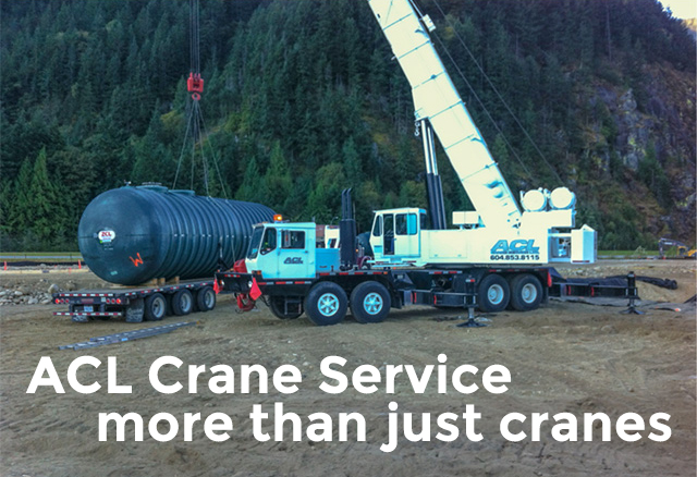 ACL Crane Service more than just cranes